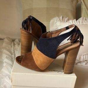 Gorgeous Suede Block Heels
